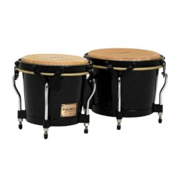 Tycoon Percussion STBBBK Supremo Black Bongos