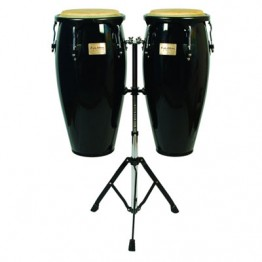 Tycoon Percussion Supremo Series Congas - Black