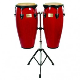 Tycoon Percussion Supremo Series Congas - Red