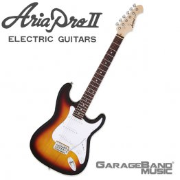 Aria Pro II STG-003 Electric Guitar, 3 Tone Sunburst