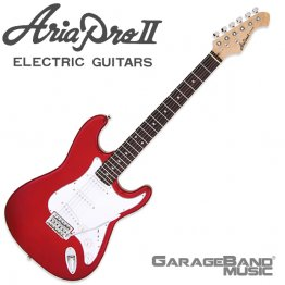 Aria Pro II STG-003 Electric Guitar, Candy Apple Red