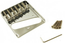 WD T30C Telecaster Style Bridge, Chrome