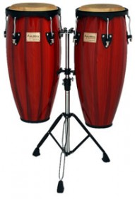 Tycoon Percussion Artist Series Congas - Red