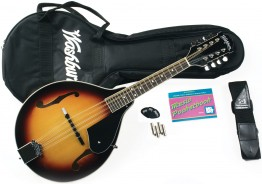 Washburn M1K-A-U A-Style Mandolin Package Sunburst