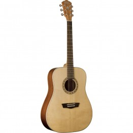 Washburn Harvest Series WD7S Acoustic Guitar, Natural Gloss