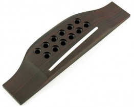 WD WDF12 Rosewood 12 String Guitar Bridge