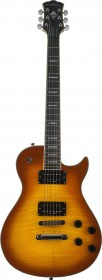 Washburn WINDLXFTSB Idol WIN Series Electric Guitar - Flame Tobacco Sunburst