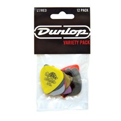 Dunlop PVP101 Guitar Pick Variety Pack, Light/Medium