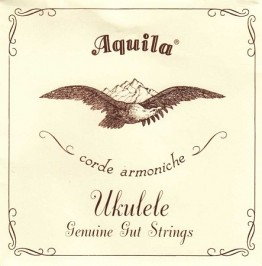 Aquila 1U Ukulele Soprnao Regular Tuning, Key of C - GCEA (gut)