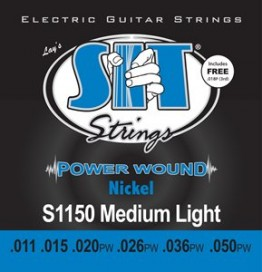 SIT Strings S1150 Power Wound Electric Medium-Light, 11-50