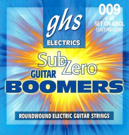 GHS CR-GBCL Sub-Zero Guitar Boomers Custom Light, 9-46