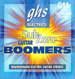 GHS CR-GBM Sub-Zero Guitar Boomers Medium, 11-50
