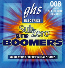 GHS CR-GBUL Sub-Zero Guitar Boomers Ultra Light, 8-38