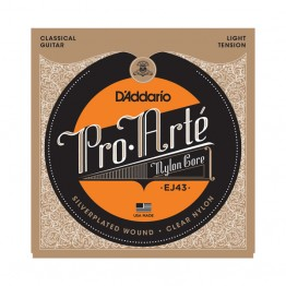 D'Addario EJ43 Pro-Arté Nylon, Light Tension