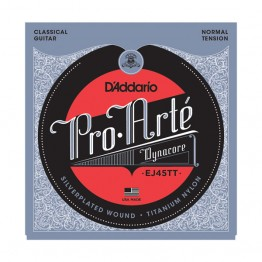 D'Addario EJ45TT Pro-Arté Dynacore, Titanium Trebles, Normal Tension