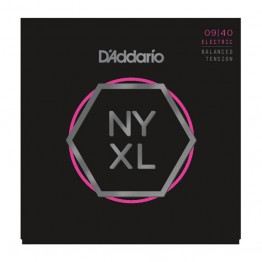 D'Addario NYXL0940BT Nickel Wound, Balanced Tension Super Lt, 9-40