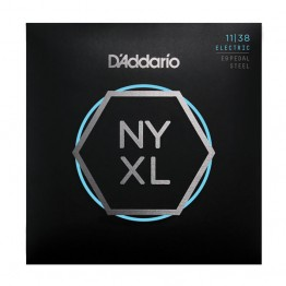 D'Addario NYXL1138PS, Nickel Wound, Pedal Steel, Reg. Light, 11-38