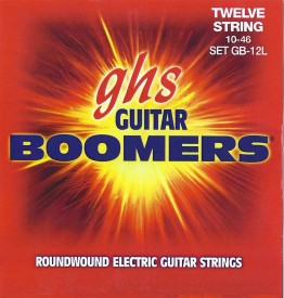 GHS GB-12L Guitar Boomers Light Electric 12 String, 10-46