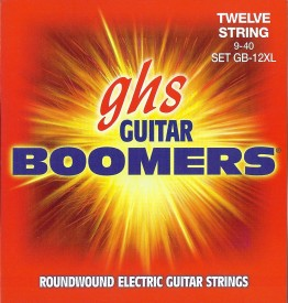 GHS GB-12XL Guitar Boomers Light Electric 12 String, 9-40