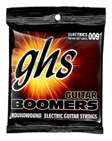 GHS GBCL Guitar Boomers Roundwound Custom Light, 9-46
