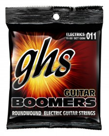 GHS GBM Guitar Boomers Roundwound Medium, 11-50