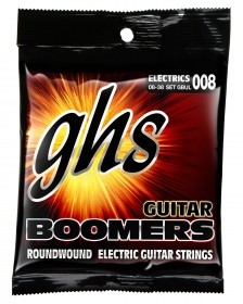 GHS GBUL Guitar Boomers Roundwound Ultra Light, 8-38