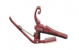 Kyser KG6RBA Quick-Change Capo - Red Bandana