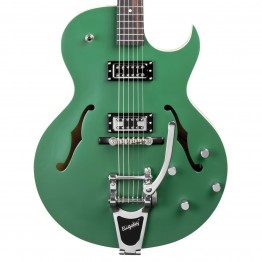 The Loar LH-306T Cutaway Archtop Guitar w/Bigsby, Green