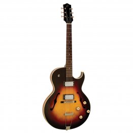 The Loar Archtop Thinbody Cutaway Guitar with Dual Humbuckers