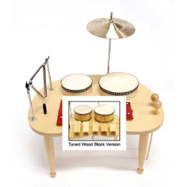 Little Legends LMCPS200 Child's Percussion Desk Set - Tuned Wood Block
