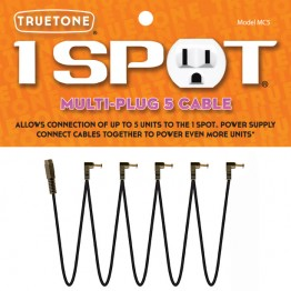 Truetone MC5 1 SPOT Multi Plug 5 Cable