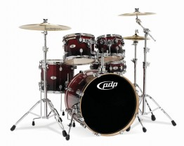 Pacific M5 Series Five-Piece Cherry Fade Shell Pack