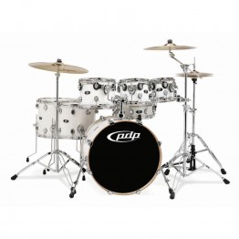 Pacific X7 Series Maple Pearl White Shell Pack