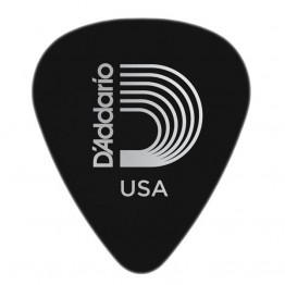D'Addario 1CBK6-10 Black Celluloid Guitar Picks, 10 pack, Heavy