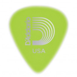 D'Addario 1CCG4-10 Cellu-Glo Guitar Picks, 10 pack, Medium