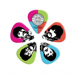D'Addario Sgt. Pepper's Lonely Hearts Club Band Guitar Picks, Light