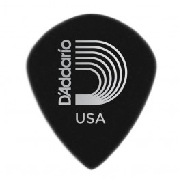 D'Addario 3DBK7-10 Black Ice Guitar Picks, 10 pack, Extra-Heavy