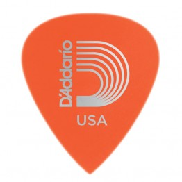 D'Addario 6DOR2-100 Duralin Precision Guitar Picks, Light, 100 pack