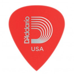 D'Addario 6DRD1-10 Duralin Precision Guitar Picks, Super Light, 10 pk