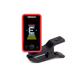 D'Addario PW-CT-17RD Eclipse Headstock Tuner, Red