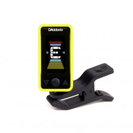 D'Addario PW-CT-17YL Eclipse Headstock Tuner, Yellow