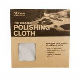 D'Addario PWPC1 Pre-Treated Polish Cloth