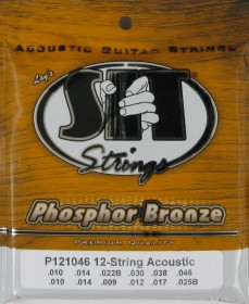 SIT Strings P121046 Phosphor Bronze Acoustic 12-String Light