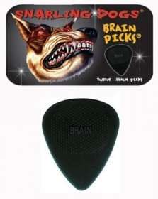 Snarling Dogs Brain Picks 12-pack Tin, .88 mm