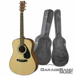Yamaha F325D Dreadnought Acoustic Guitar with Hard Case, Natural