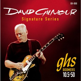 GHS GB-DGG David Gilmour Signature Red Set Electric Strings, 10.5-50