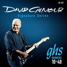 GHS GB-DGF David Gilmour Signature Blue Set Electric Strings, 10-48