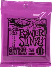 Ernie Ball 2220 Power Slinky Electric Strings, 11-48