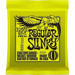 Ernie Ball 2221 Regular Slinky Electric Strings, 10-46
