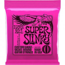 Ernie Ball 2223 Super Slinky Electric Strings, 9-42